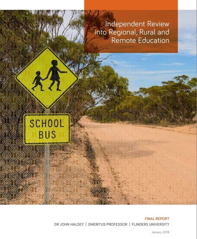CaSPA applauds the Government's support for the Recommendations from the Review of Rural Education