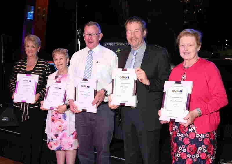 CaSPA Awards - Meritorious Service as National and State Office Bearers