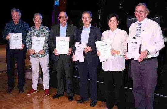 CaSPA Awards - Meritorious Service 25 years as a Catholic Secondary Principal