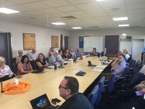 NT Principals meet with CaSPA Board in Darwin