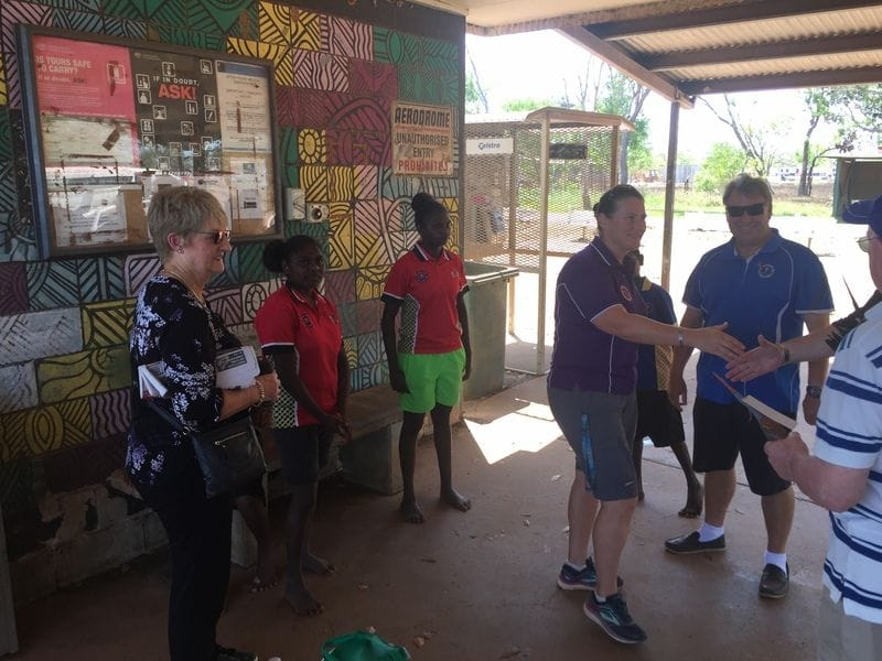 CaSPA visits Bathurst Island Schools