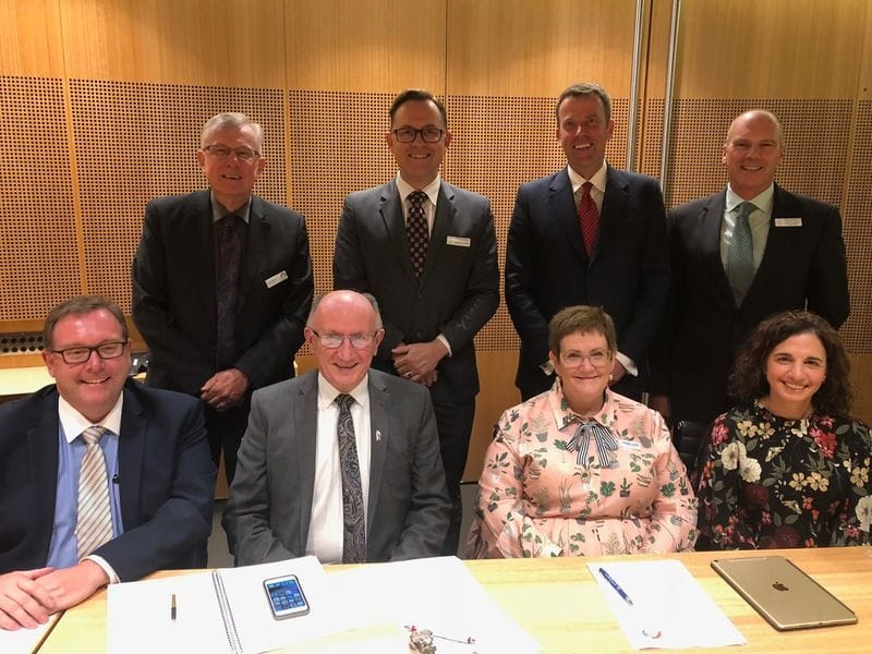 CaSPA joins other stakeholders in key meeting with Minister Tehan
