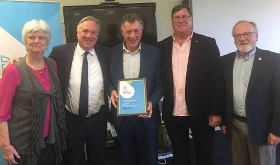 Tony O'Byrne recognised for over 50 years service to Catholic Education