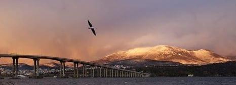Winter wonderland in Hobart