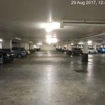 Apartment complex carpark lighting upgrade.