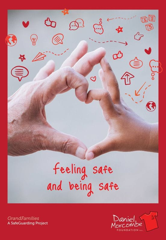 Releasing personal safety booklet for Grandparent families