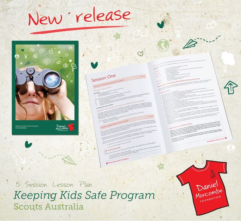 Daniel Morcombe Foundation teams up with Scouts Queensland to deliver a Keeping Kids Safe Program and Badge