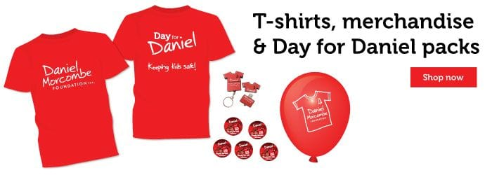 Order merchandise for Day for Daniel