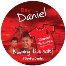 Day for Daniel Sticker x 100