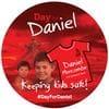 Day for Daniel Sticker x 100