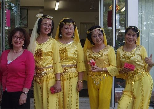 2013 CHINESE NEW YEAR CELEBRATION AT BLANDVILLE COURT