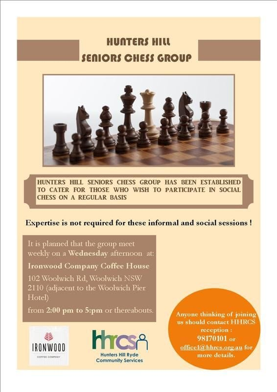 Come and Join the Chess Group