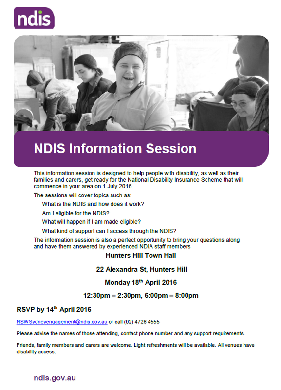 NDIS-Information Session