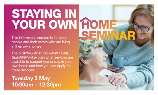 Stay In Your Home Seminar