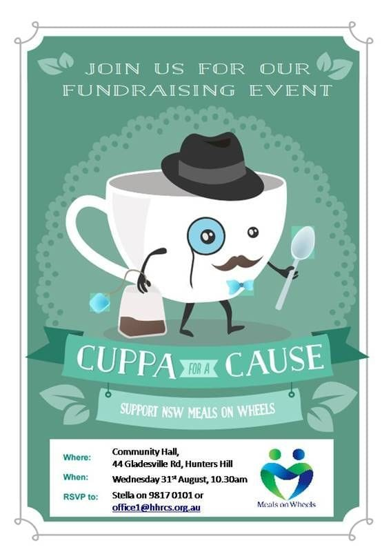 Cuppa for a Cause 2016