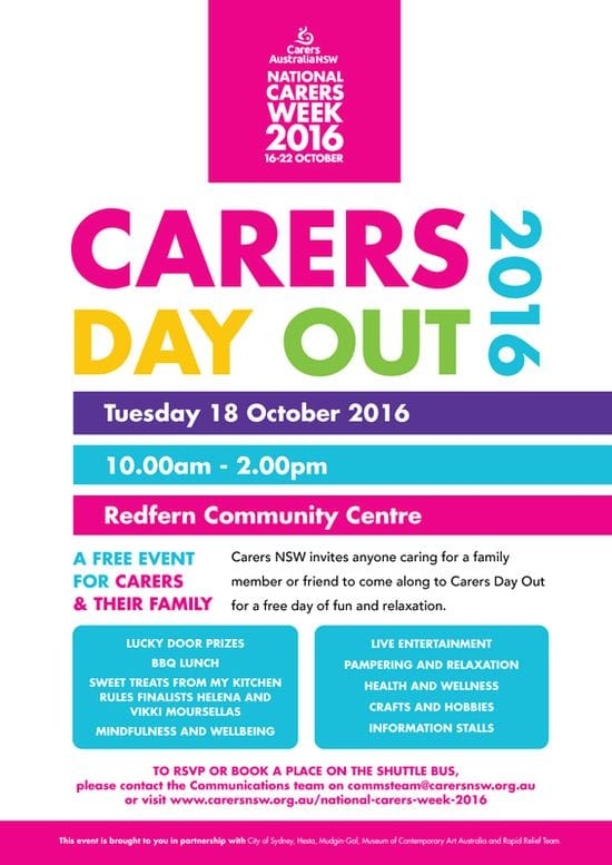 Carers Day Out - Carers NSW