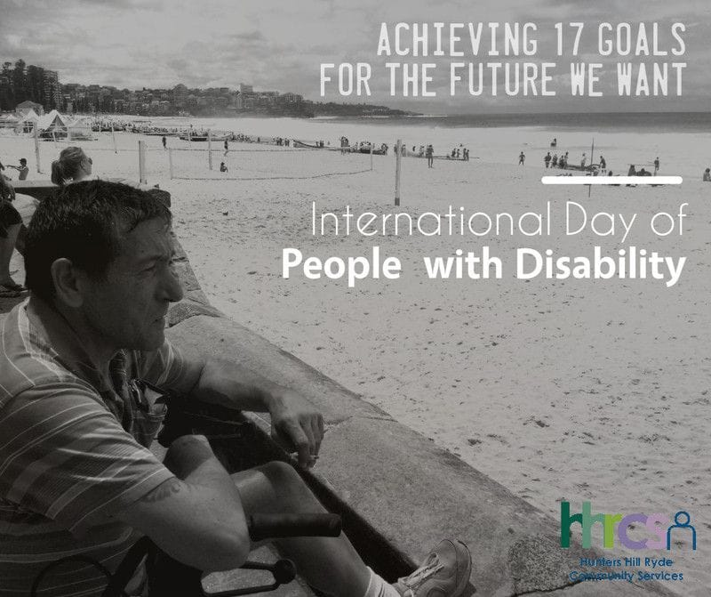 Supporting the International Day of People with DisAbility