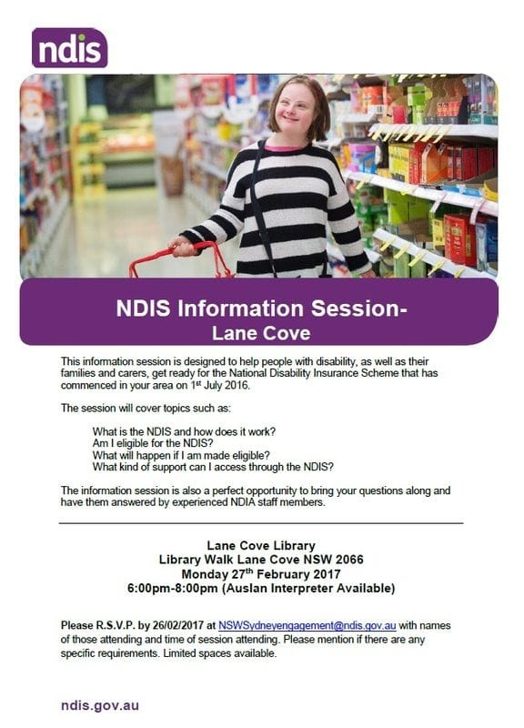 NDIS Information Session 2017 (2)