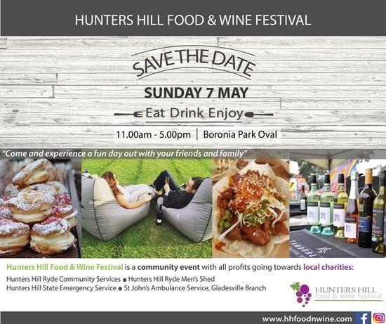 Hunters Hill Food & Wine Festival