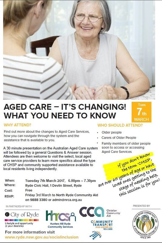 Aged Care Information Session