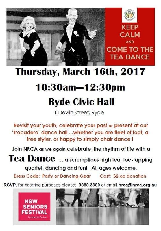 Tea Dance for Seniors
