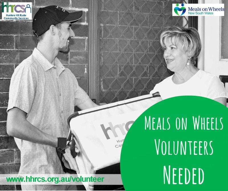Join our Meals on Wheels team and deliver a difference!