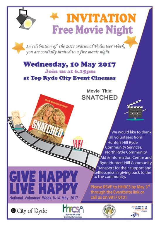 GIVE HAPPY LIVE HAPPY-Free Movie Night