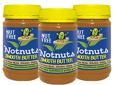 3 Jar Box Notnuts Smooth Butter