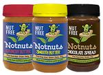 3 Jar Mixed Box Notnuts Smooth, Crunchy and Choc