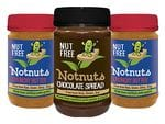 3 Jar Mixed Box Notnuts: 2 x Crunchy and 1 x Choc