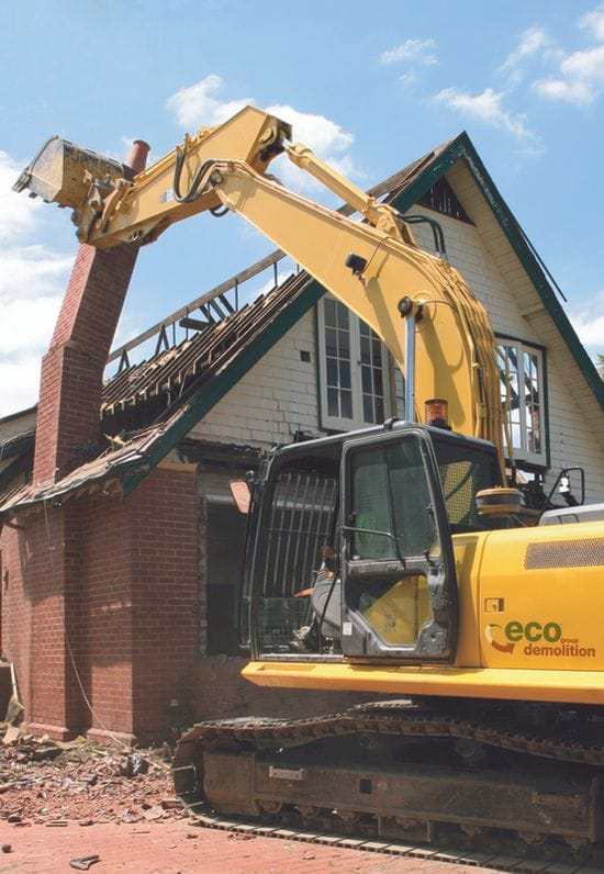 Six things you need to do before starting a demolition.