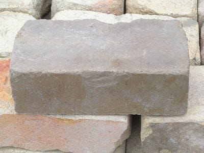 Grey face bricks