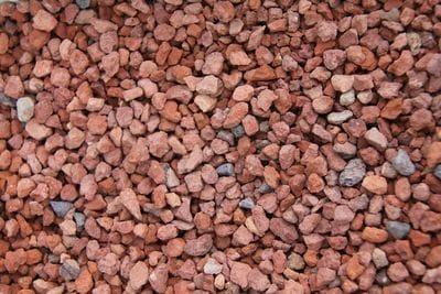 20mm red aggregate crushed brick
