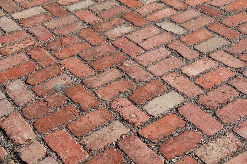 pavers recycled red paver bricks melbourne