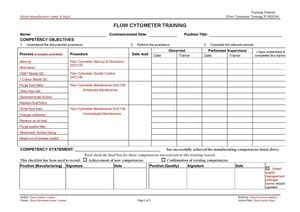 Flow Cytometer Training