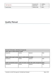 Quality Manual - devices