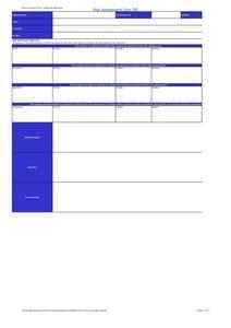 Risk Assessment Spreadsheet - GMP