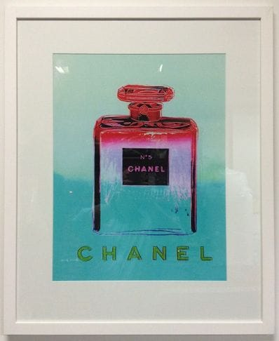 Chanel Aqua Cerise by Andy Warhol