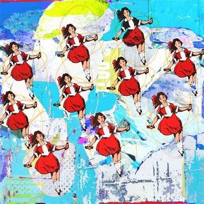 10 Skipping Girls Blue - Jan Neil