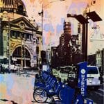 Bike City Blue - Jan Neil