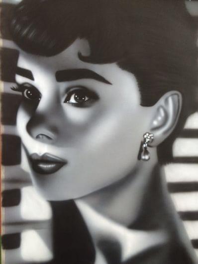 Audrey Hepburn by Sheehan