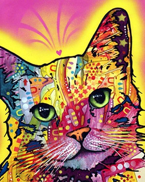pop art cats wall art