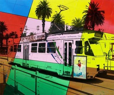 St. Kilda Tram - Jan Neil
