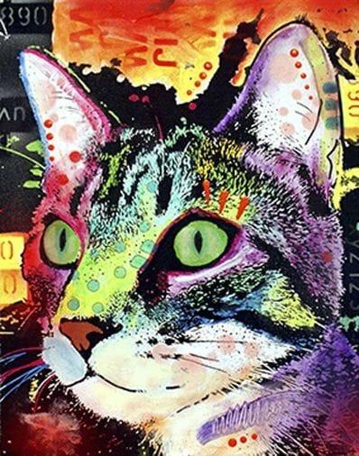 Cat Pop Art 115414