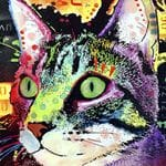 Cat Pop Art 115414