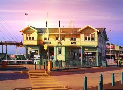 Station Pier Port Melbourne