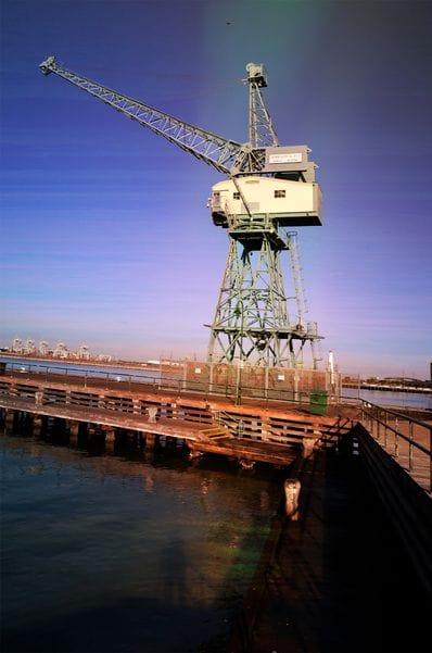Crane Port Melbourne
