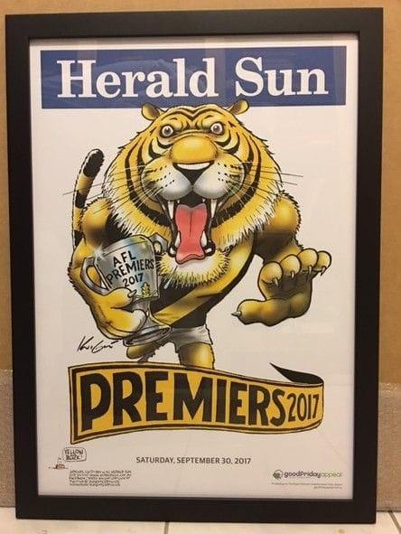 Tigers 2017 Framed