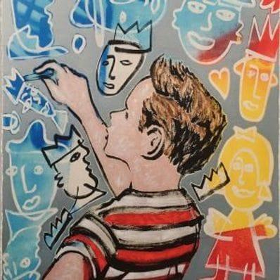 Young Artist - Vertical - David Bromley