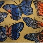Gold Butterflies - David Bromley